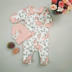 Комплект одежды первого слоя Sofuto baby Vintage poudre