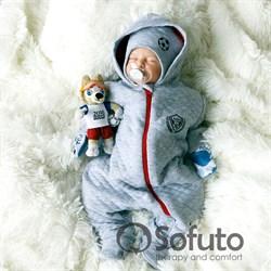 Комбинезон стеганый на молнии Sofuto baby Football