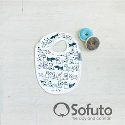 Фартук на кнопке Sofuto baby Dogs