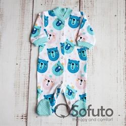 Слип на кнопках Sofuto baby Osito