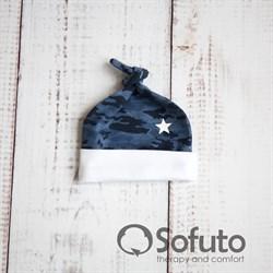 Шапочка-узелок Sofuto Baby Army
