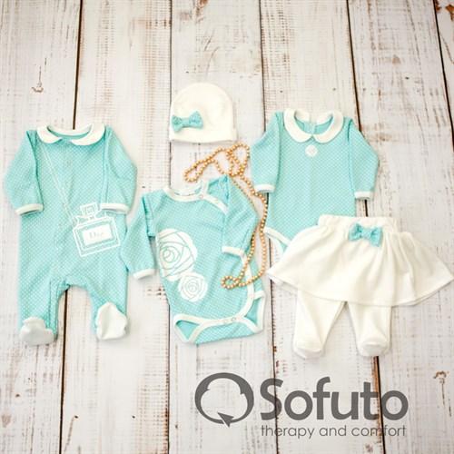 Комплект одежды 5 предметов Sofuto baby Tiffany - фото 10084