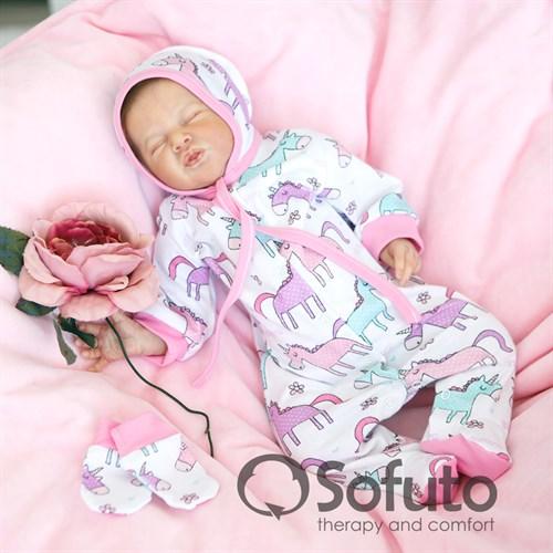 Комплект 3 предмета Sofuto baby unicorn - фото 10088