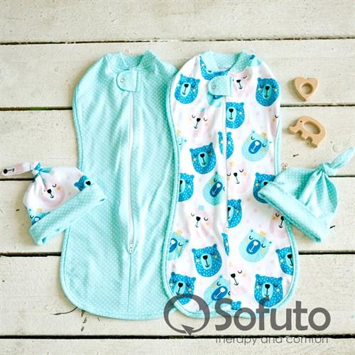 Комплект пеленок Sofuto Swaddler Osito - фото 10107