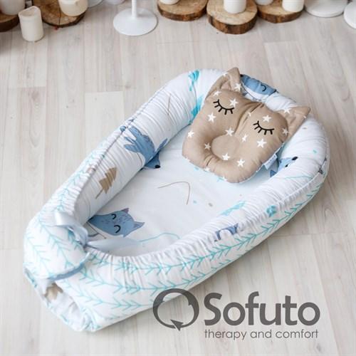Кокон-гнездышко Sofuto Babynest Sleep dream - фото 10134