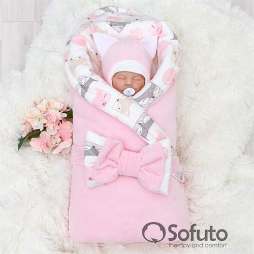 Комплект на выписку зимний (6 предметов) Sofuto baby Squirrel - фото 10165