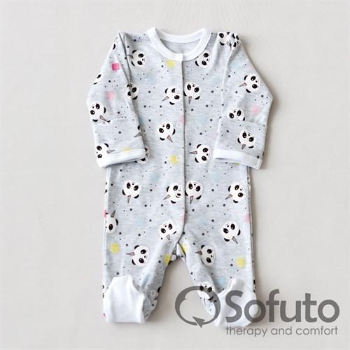 Слип на кнопках Sofuto baby magic Panda - фото 10254