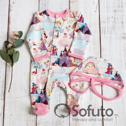 Комплект одежды первого слоя Sofuto baby magic Kingdom - фото 10281