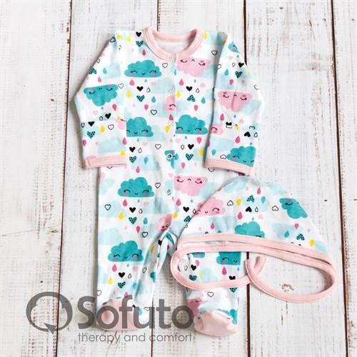Комплект одежды первого слоя Sofuto baby Little girl - фото 10289