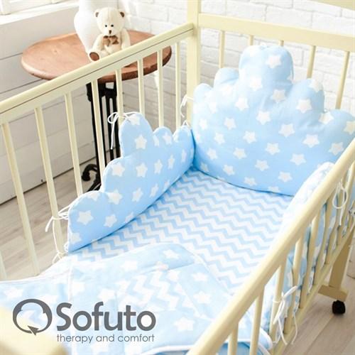 Комплект бортиков Sofuto Babyroom BCL-SCL2 Blue sky - фото 10340