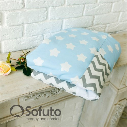 Одеяло стеганное Sofuto Babyroom Frosty morning - фото 10359