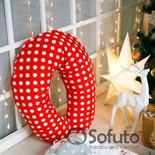 Подушка для беременных Sofuto ST Red dots - фото 10417
