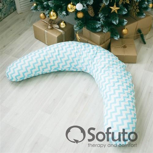 Подушка для беременных Sofuto ST aqua waves - фото 10421