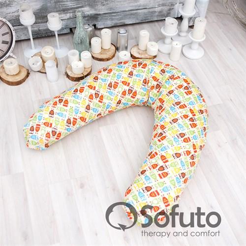 Подушка для беременных Sofuto ST Owl sand - фото 10422