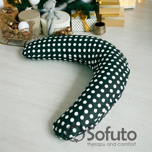 Подушка для беременных Sofuto ST Black dots - фото 10424
