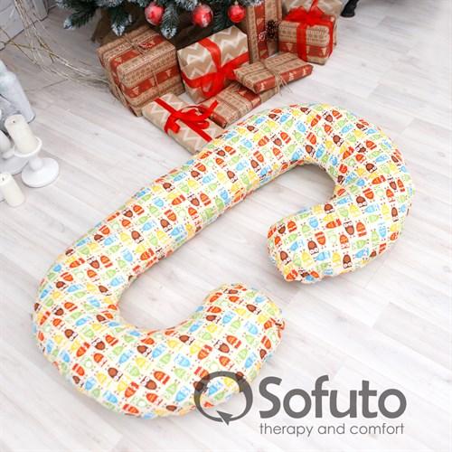 Подушка для беременных Sofuto CСompact Owl sand - фото 10432