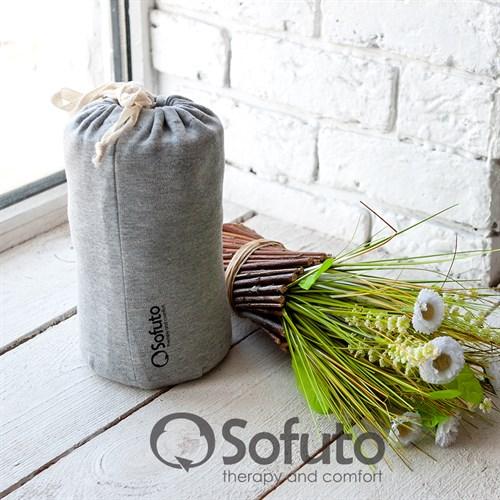 Слинг-шарф трикотажный Sofuto Babysling Gray - фото 10646