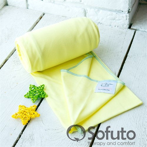 Слинг-шарф трикотажный Sofuto Babysling yellow - фото 10647