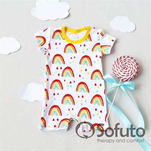 Песочник Sofuto baby Rainbow party - фото 10674