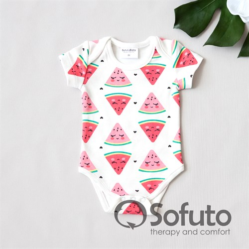 Боди короткий рукав Sofuto baby Watermelon - фото 11057