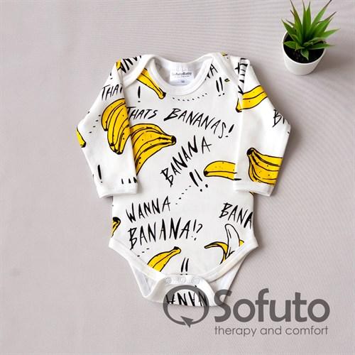 Боди детское Sofuto baby Bananas - фото 11060