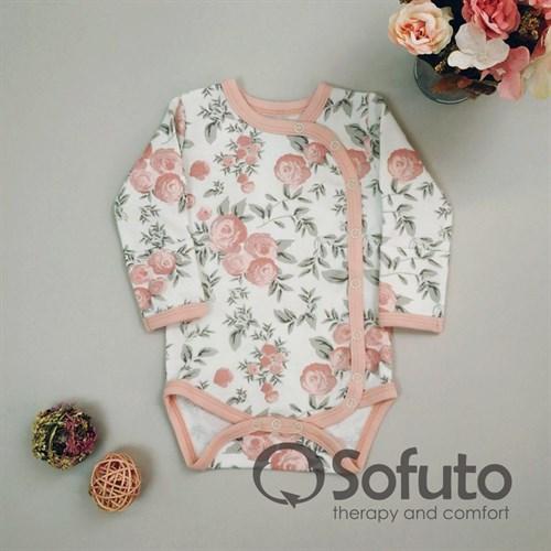 Боди на запах Sofuto baby Vintage poudre - фото 11063