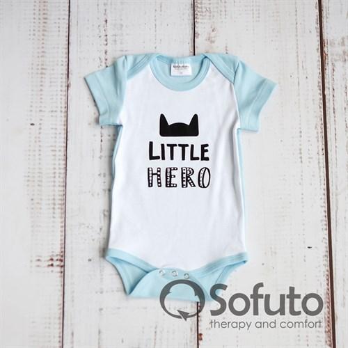 Боди короткий рукав Sofuto baby Batman - фото 11065