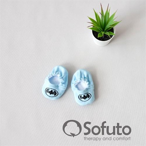 Мокасины детские Sofuto baby Batman - фото 11088