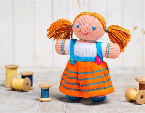 "Игрушка вязаная ""Кукла Девочка"" - фото 11972"