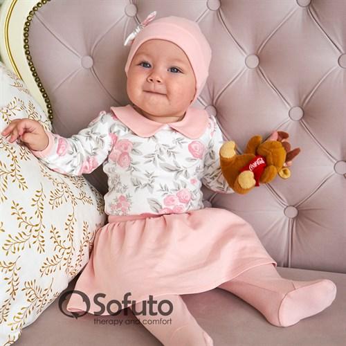 Комплект одежды 3 предмета Sofuto baby Vintage poudre