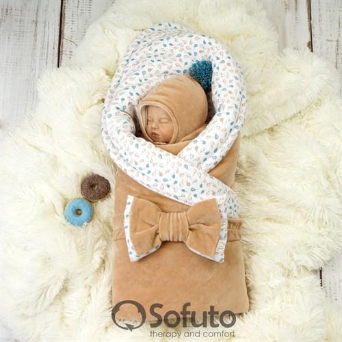 Комплект на выписку зимний (6 предметов) Sofuto baby Balloons