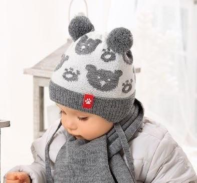 Комплект 38-420 шапка подклад флис+шарф