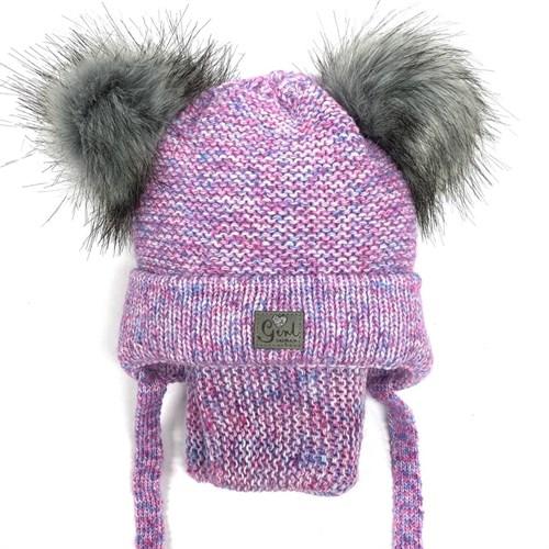 Комплект A 943ST шапка с утеплителем + снуд - фото 12574
