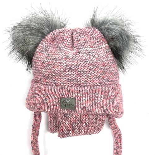 Комплект A 943ST шапка с утеплителем + снуд - фото 12576