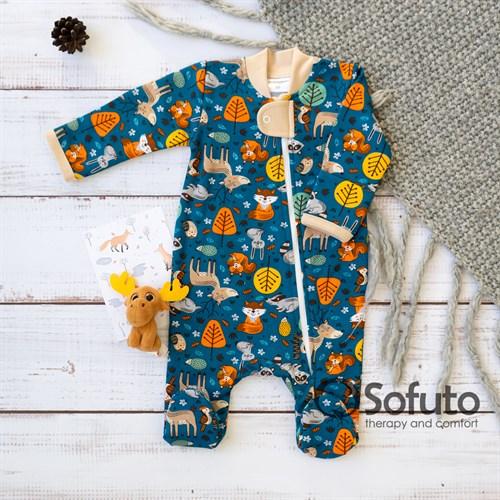Слип тёплый на молнии Sofuto Baby Juicy Autumn