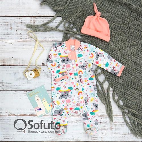 Слип тёплый на молнии Sofuto Baby Koala