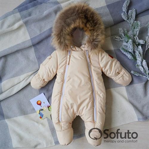 Комбинезон зимний Sofuto outwear V3 Cream - фото 12789