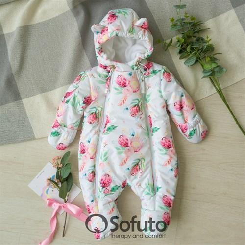 Комбинезон демисезонный Sofuto outwear Piony