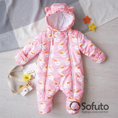Комбинезон демисезонный Sofuto outwear Rainbow