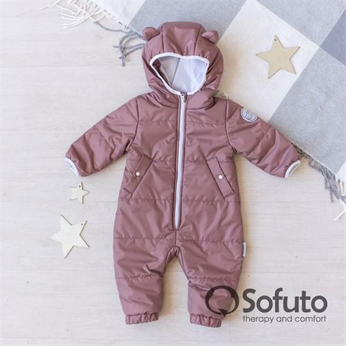 Комбинезон демисезонный Sofuto outwear kids Cappuccino