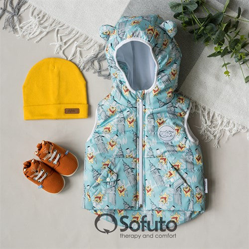 Жилет демисезонный Sofuto outwear London