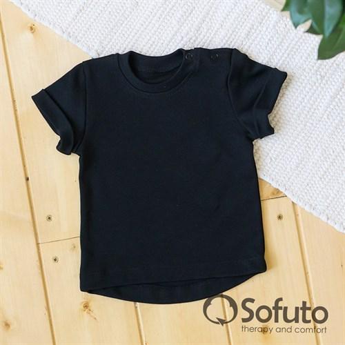 Футболка детская Sofuto kids Black - фото 14010