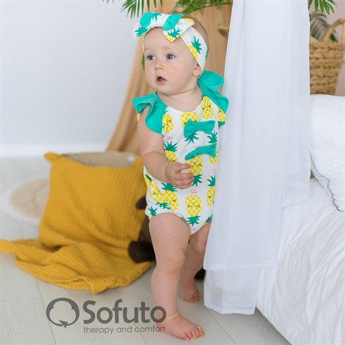Песочник с повязкой Sofuto baby Pineapple