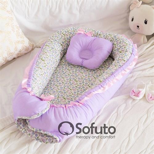 Кокон-гнездышко Sofuto Babynest Provence