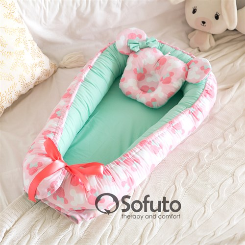 Кокон-гнездышко Sofuto Babynest Sweet Dream - фото 14425