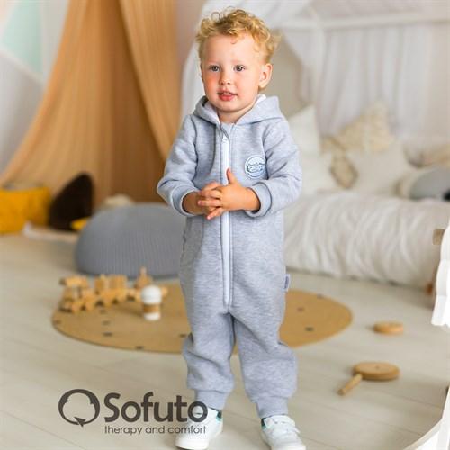 Комбинезон Sofuto toddler Universal Gray - фото 14592