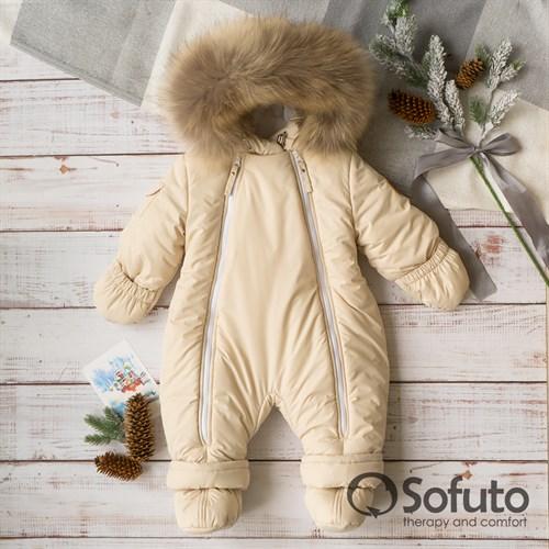 Комбинезон зимний Sofuto outwear V3 Cream (toddler)