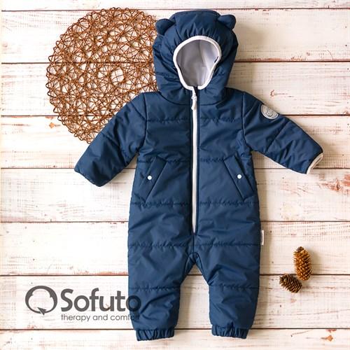 Комбинезон демисезонный Sofuto outwear kids Dark blue New