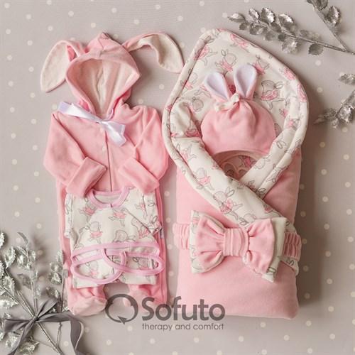 Комплект на выписку зимний ( 6 предметов) Sofuto baby Balerina