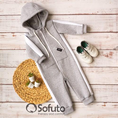 Комбинезон Sofuto toddler Sport Gray - фото 14800